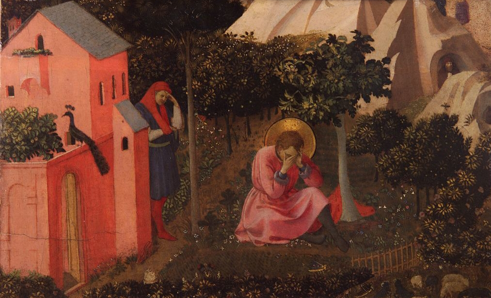 Fra Angelico, Conversion of Saint Augustine