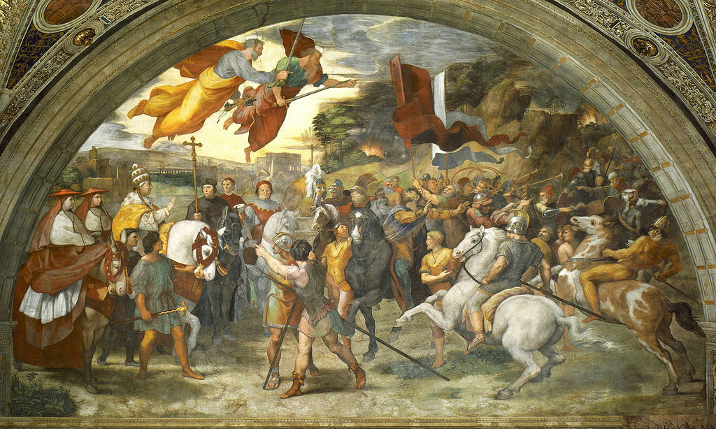 Raphael, The Meeting of Leo the Great and Attila
