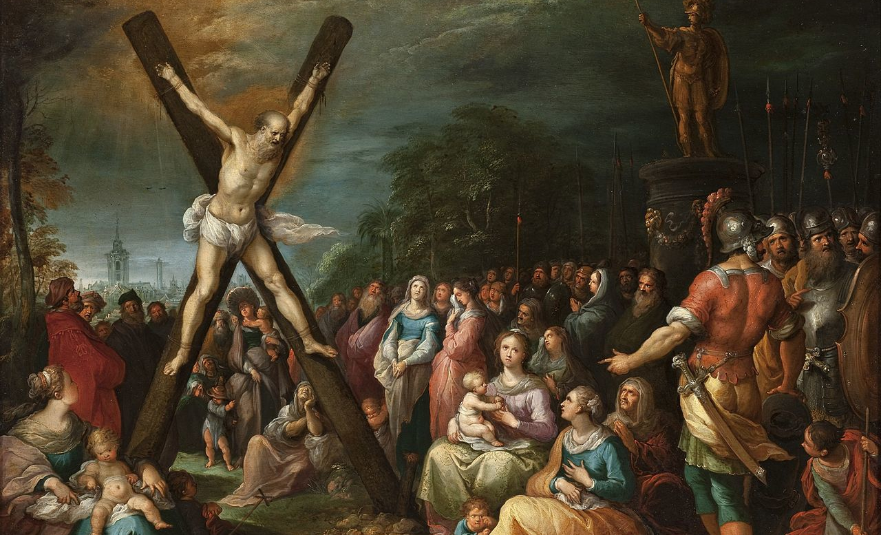Frans Francken the Younger, The Crucifixion of St. Andrew