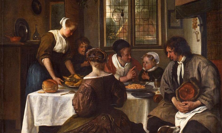 Jan Steen, Prayer Before Meal