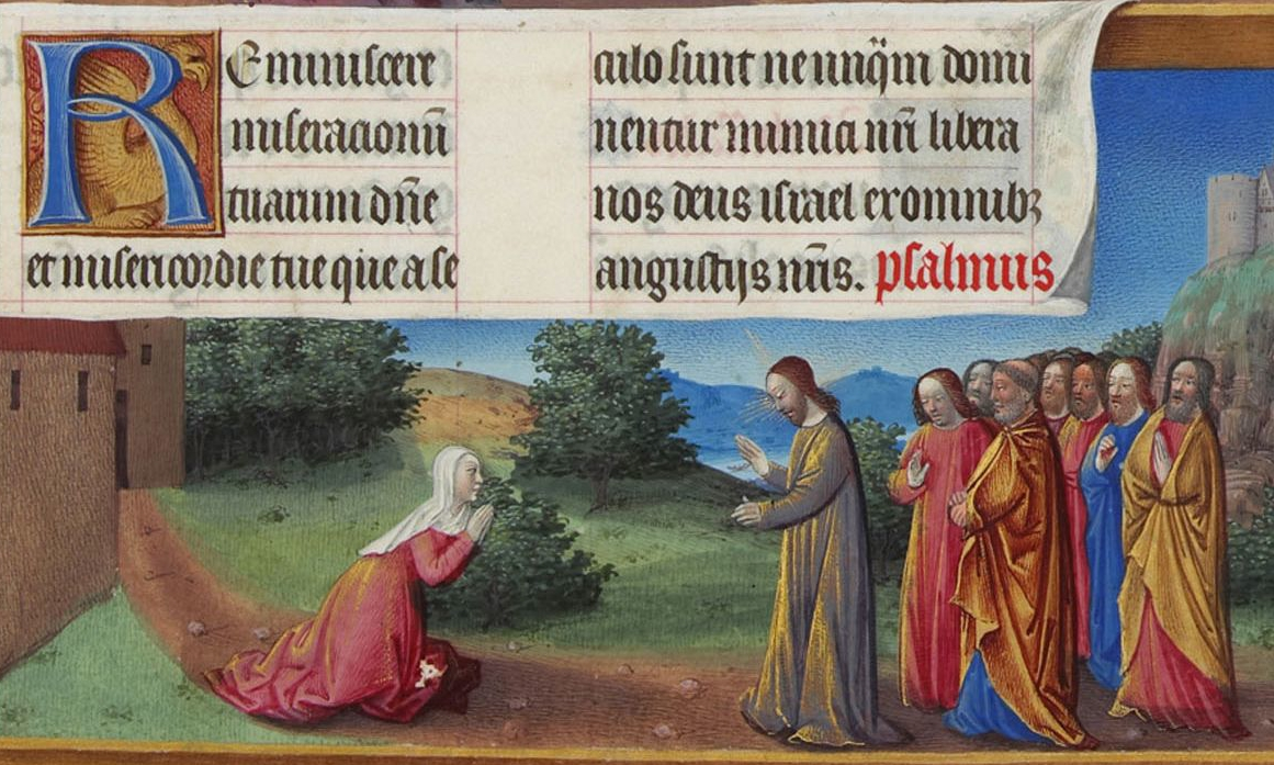 Limbourg Brothers, The Canaanite Woman