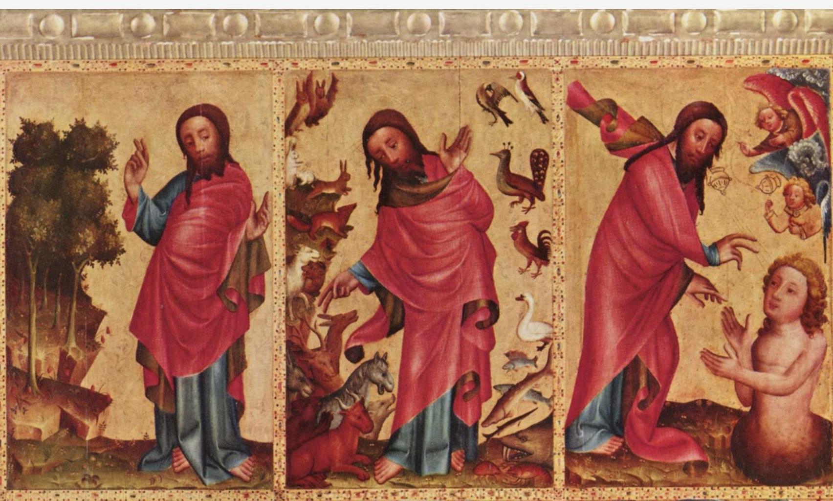 Meister Bertram von Minden, Grabow Altarpiece (detail)