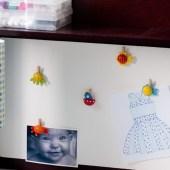 Tack-less Bulletin Board for Kids