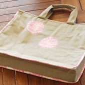 Ms. C's Handmade Laptop Bag – How to Use Fusible Fleece