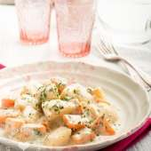 Potatoes with Parsley Sauce