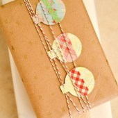 Inexpensive Edible Holiday Gifts & Kraft Paper Gift-Wrapping