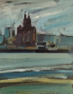 Liver building from the Wirral (April No.3)