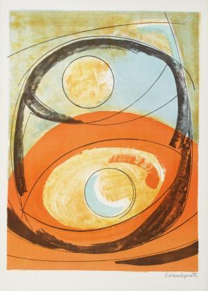 Genesis 1969 by Dame Barbara Hepworth 1903-1975