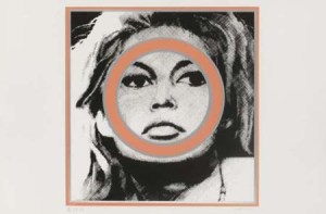 Brigitte Bardot Signed  by Gerald Laing