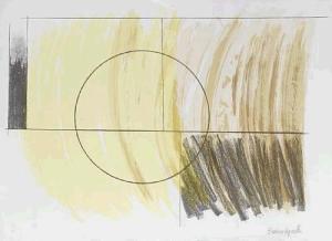 Penwith portfolio  Moon Landscape Signed  by Barbara Hepworth