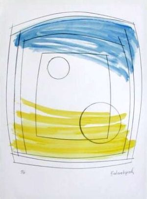 Moonplay Signed  by Barbara Hepworth