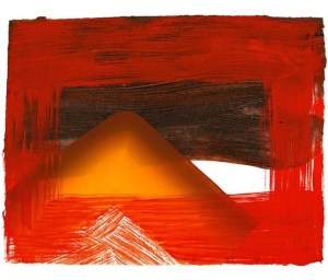 Snow Signed  by Howard Hodgkin