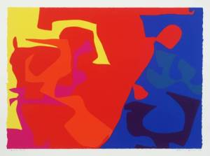 from January 1973: 5 Signed  by Patrick Heron