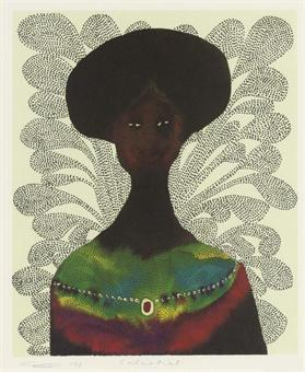 Celestial Signed  by Chris Ofili
