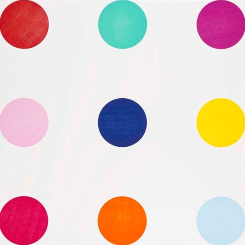 Tryptophan Signed  by Damien Hirst