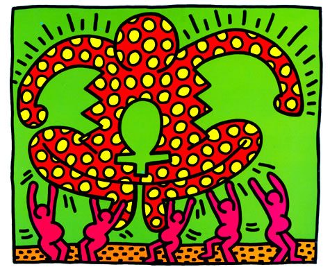 Fertility suite Signed  by Keith Haring