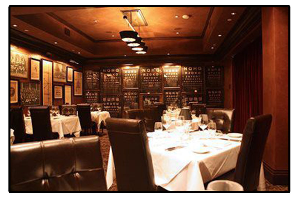 Dominick's Steakhouse library