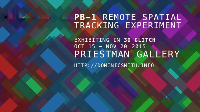 PB-1 Remote Spatial Tracking Experiment