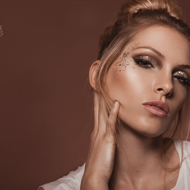 Glitter Beauty Shoot