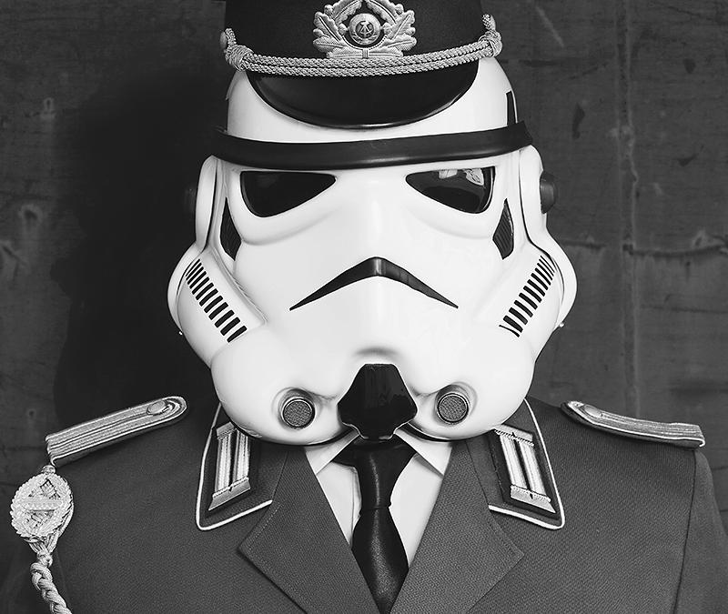 Star Wars Stormtrooper- just different