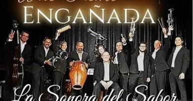 """Nuovo successo """"Engañada di Wilo Piano y la sonora del Sabor"""" de Portorico al Mondo."""