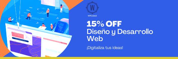 Diseño y Desarrollo Web -WPCDMX