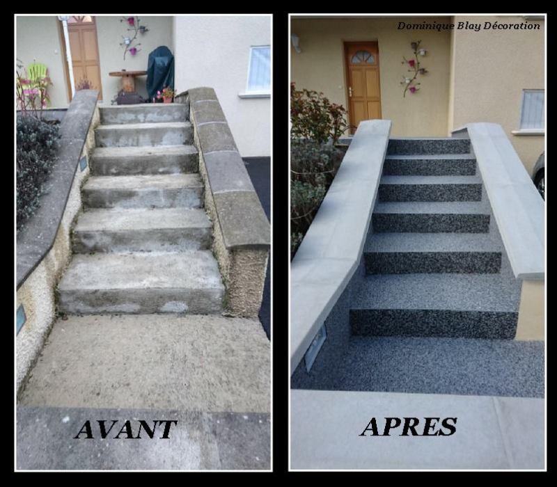rénovation escalier et terrasse yssingeaux