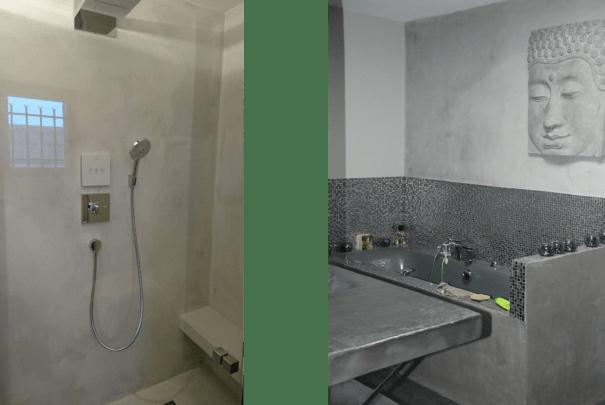 salle de bains en béton ciré haute loire 43 le puy en velay