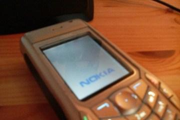 Nokia 6630 Reboot