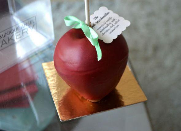 marshmallow apple