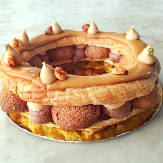 Paris New York Cake