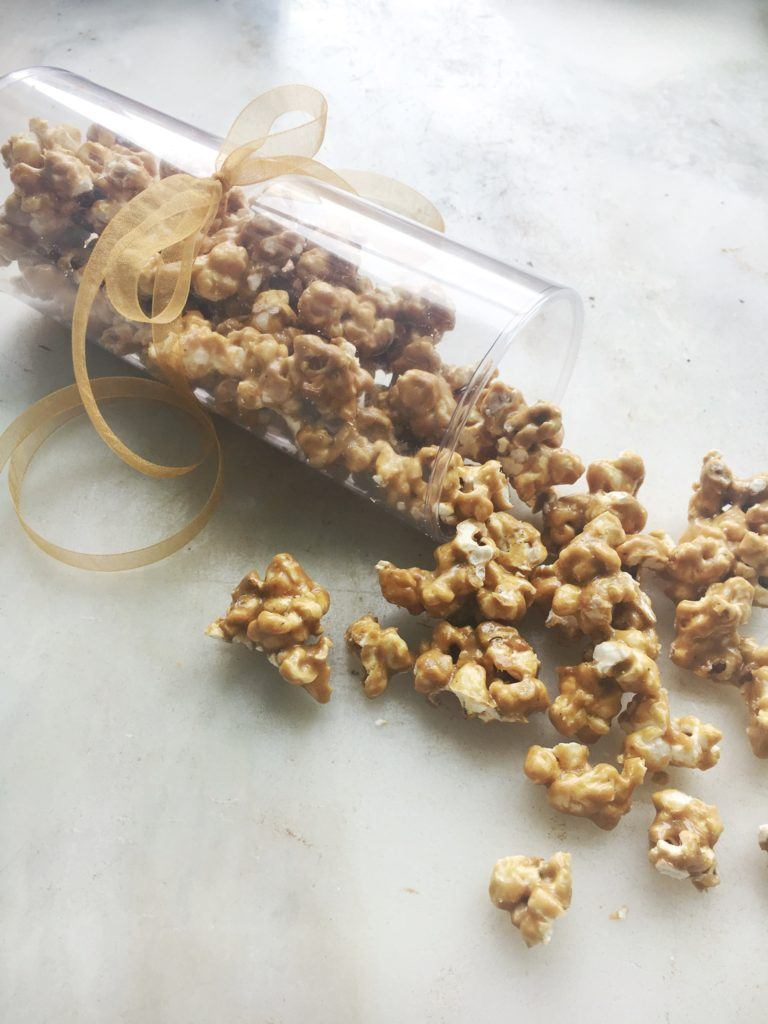 Caramel Herbs de Provence Popcorn