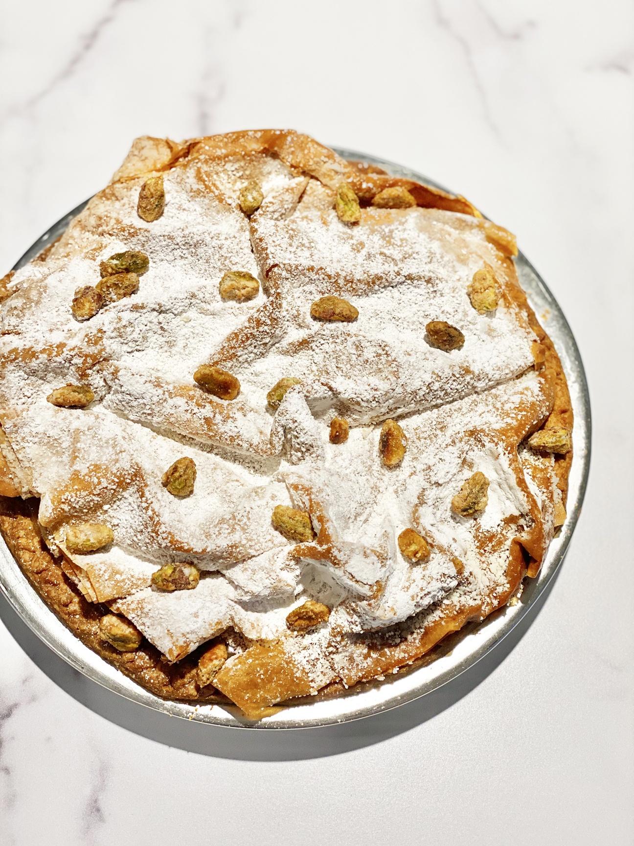 DAB Pie Night 2021 - Morrocan Orange Blossom Pistachio Pie