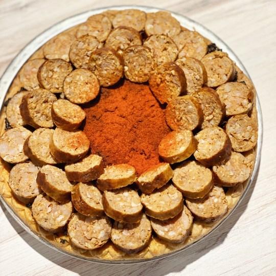 DAB Pie Night 2021 - Spanish Spicy Chorizo with Squid Ink Black Rice