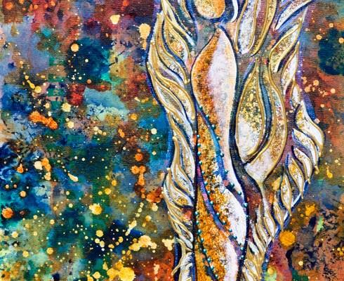 "painting ""Guardian Angel"""
