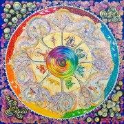 Law of Vibration Mandala