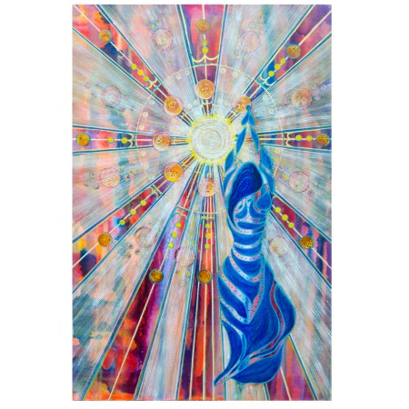 Exaltation intuitive painting
