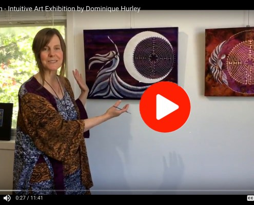 YouTube video of Connection Art Exhibition