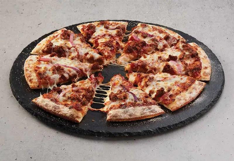 Domino's Beef & Onion Pizza