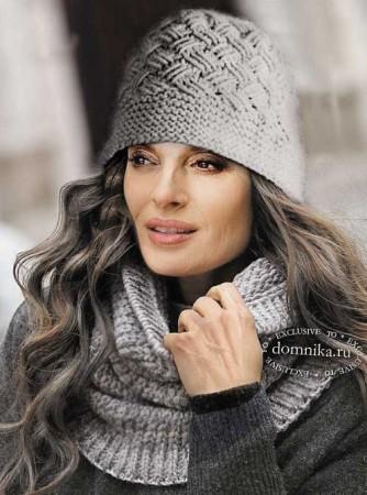 Pălăria tricotată a femeilor