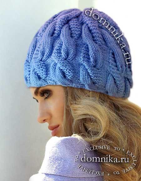 Pălării tricotate a femeilor