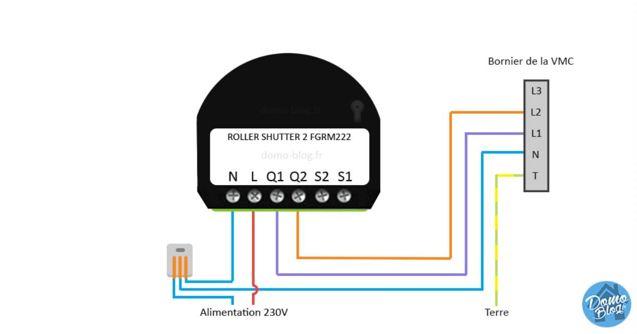 Domotiser Une Vmc Avec Un Module Fibaro Fgr 222 Ou Roller Shutter 223 Et Jeedom