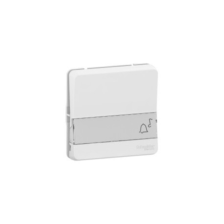 Bouton poussoir porte etiquette IP55 IK08   Composable   Blanc     BP PORTE ET  BLC COMP