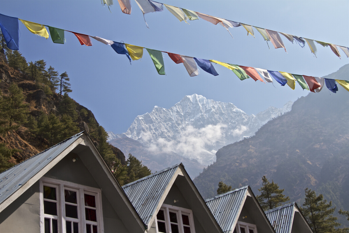 Destinations // Everest Base Camp Trek Day 2: Phakding to Namche Bazaar