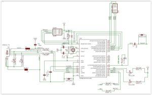 Schéma cablage Arduino Mega 2560