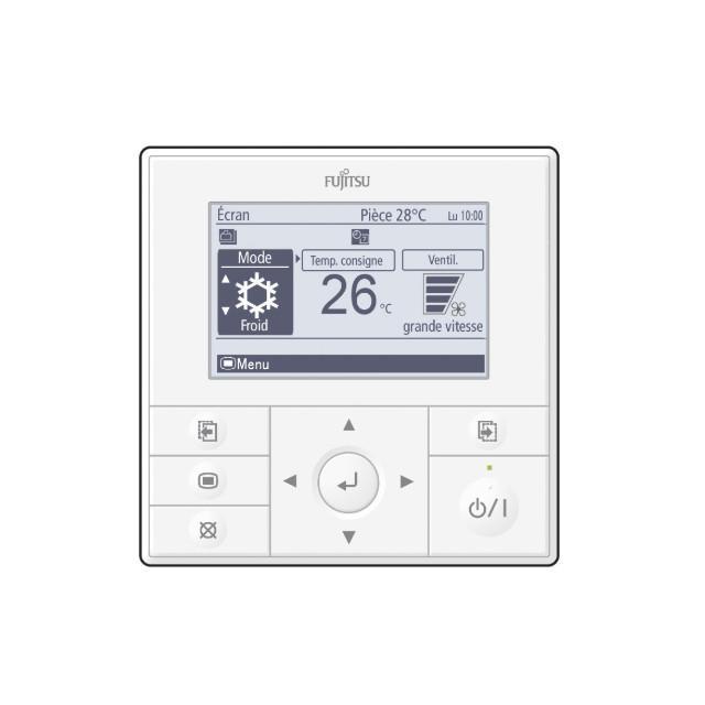 Atlantic Telecommande Filaire A Programmation Hebdomadaire Uty Rvnym Accessoires Climatisation Pac Air Air