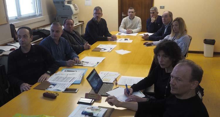 CIFP Ferrolterra Reunión con profesores extranjeros en el marco