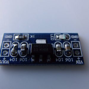 Modulo di Alimentazione 3.3V AMS1117-3.3V fixed regulated output- input 4.5 ~ 7V 3.3V output
