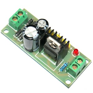 L7805 LM7805 three-terminal Voltaggio Regolatore Modulo, 5V regulated Modulo di Alimentazione, 5V Voltaggio Regolatore Modulo