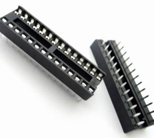 4 Pezzi 28P Narrow IC socket